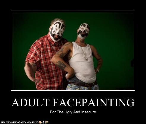 ADULT FACEPAINTING