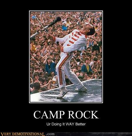camp rock,freddie mercury