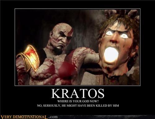 kratos god of war chuck norris