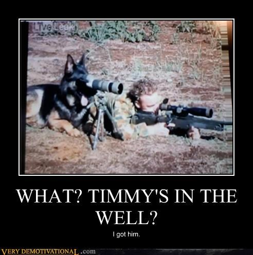 WHAT? TIMMYS IN THE WELL?