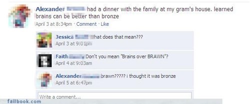 Bronze: The Best Way To Combat Brains