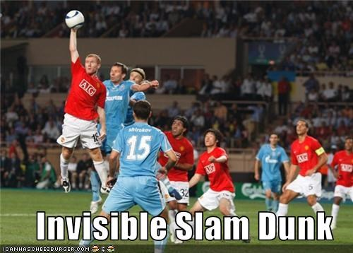 Invisible Slam Dunk