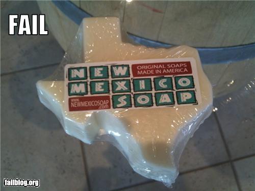 Soap Fail
