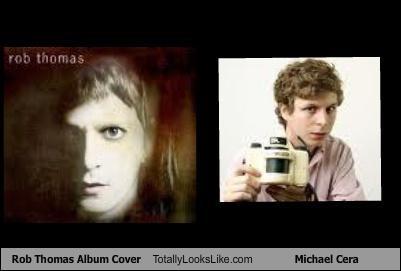 actor,albums,cover,michael cera,musician,rob thomas