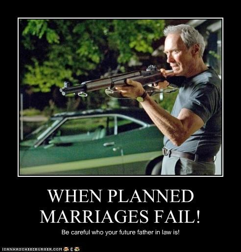 WHEN PLANNED MARRIAGES FAIL!
