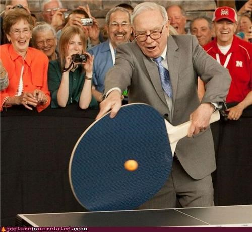 The Biggest Game Of Ping Pong Of His Life