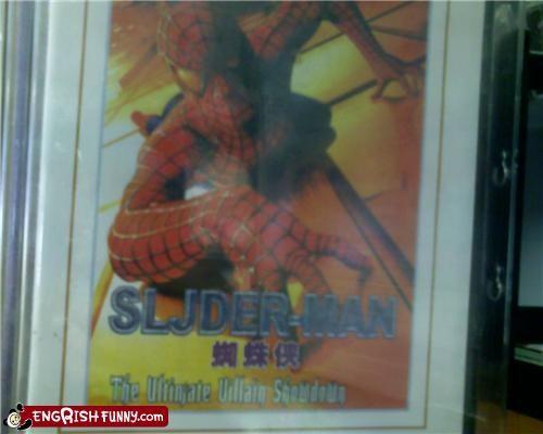 Movie,Spider-Man,typo,Unknown
