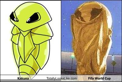 Kakuna Totally Looks Like Fifa World Cup