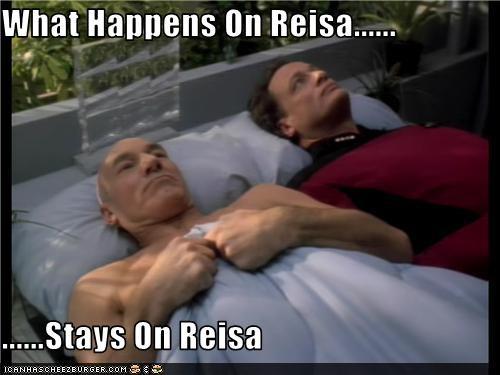 What Happens On Reisa......  ......Stays On Reisa
