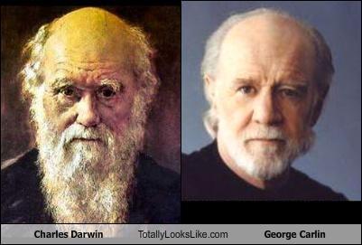 charles darwin,comedian,george carlin,naturalist,science