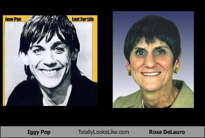 Iggy Pop Totally Looks Like Rosa DeLauro