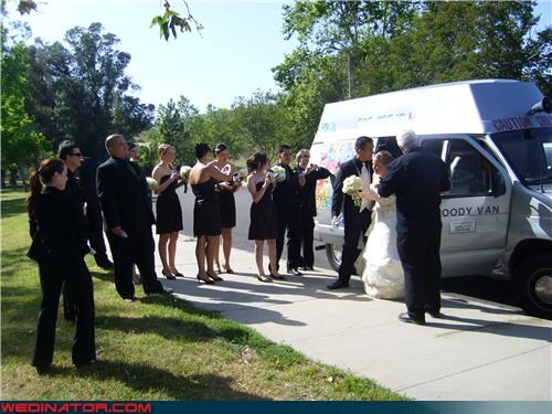 black wedding,bride,delicious,fashion is my passion,ice cream truck,sprinkles on top,surprise,were-in-love,wedding party