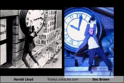 Harold Lloyd Totally Looks Like Doc Brown