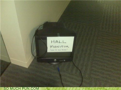 Do You Have A Hall Pass?