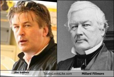 Alec Baldwin Totally Looks Like Millard Fillmore