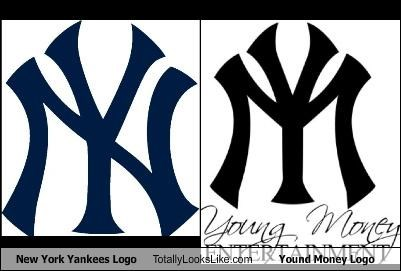 New York Yankees Logo Totally Looks Like Yound Money Logo