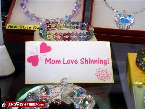 Shinning Mom might be painful...