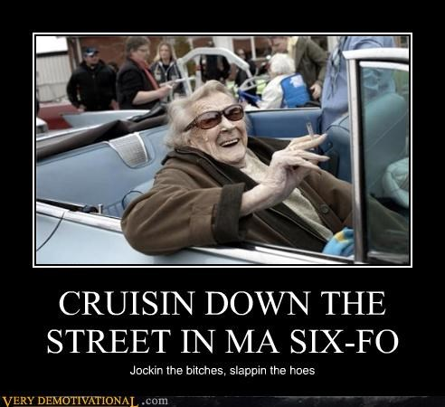 CRUISIN DOWN THE STREET IN MA SIX-FO
