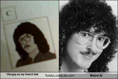 comedian,drawing,hair,musician,Weird Al Yankovic