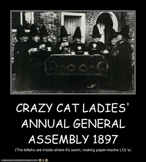 CRAZY CAT LADIES' ANNUAL GENERAL ASSEMBLY 1897