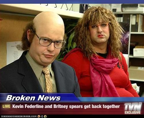 Broken News - Kevin Federline and Britney spears get back together
