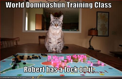 World Dominashun Training Class  Robert has a lock on it.