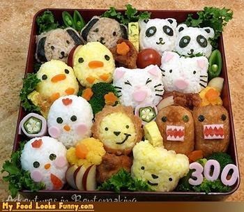 animals,bento,bento box,box,noahs ark,rice,squee