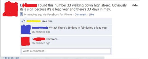 Leap Year What?