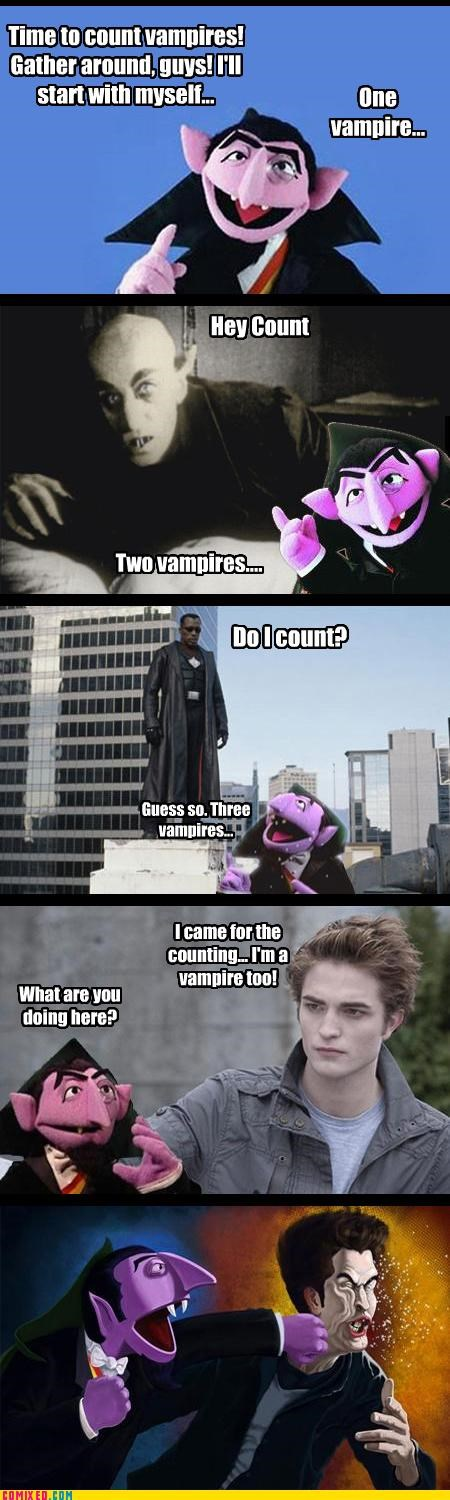 blade,Count von Count,Counts,edward cullen,finally someone slamming Twilight,From the Movies,nosferatu,twilight