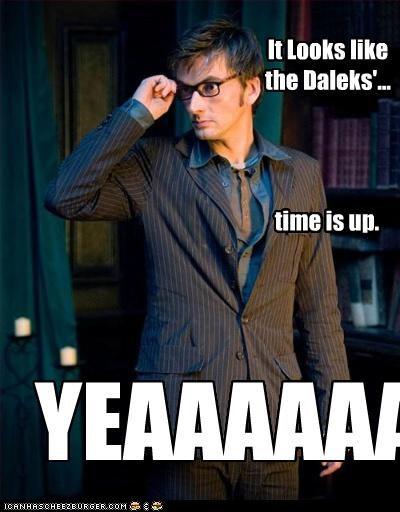 It Looks like the Daleks'...