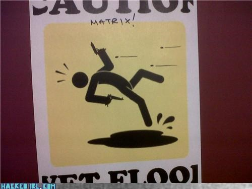 Caution: MATRIX!