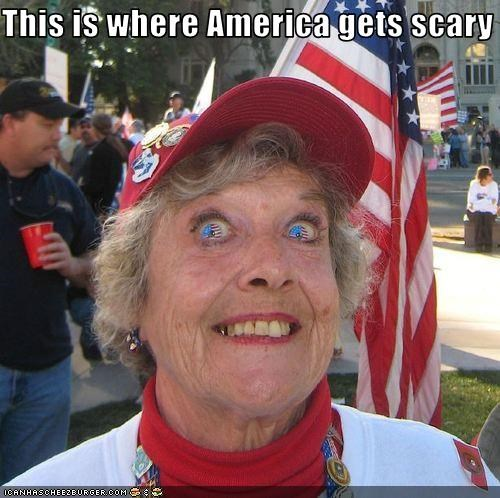 This is where America gets scary