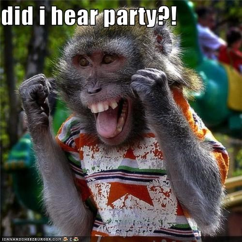 did i hear party?!