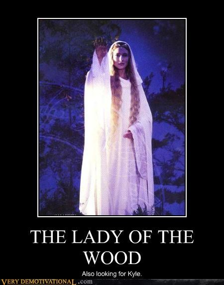 THE LADY OF THE WOOD