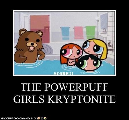 THE POWERPUFF GIRLS KRYPTONITE