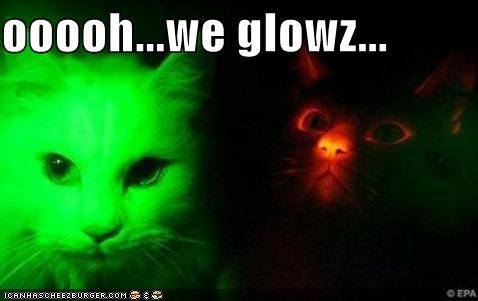 ooooh...we glowz...