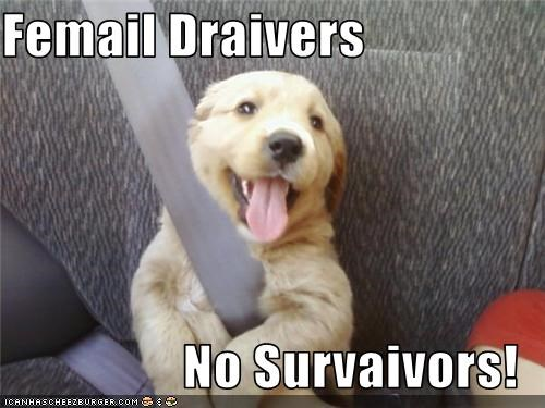 Femail Draivers   No Survaivors!