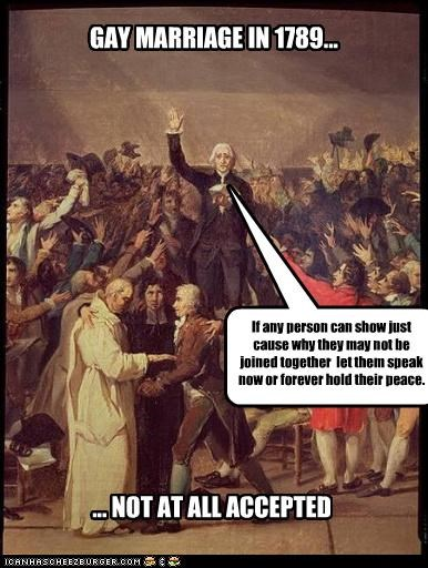 GAY MARRIAGE IN 1789...