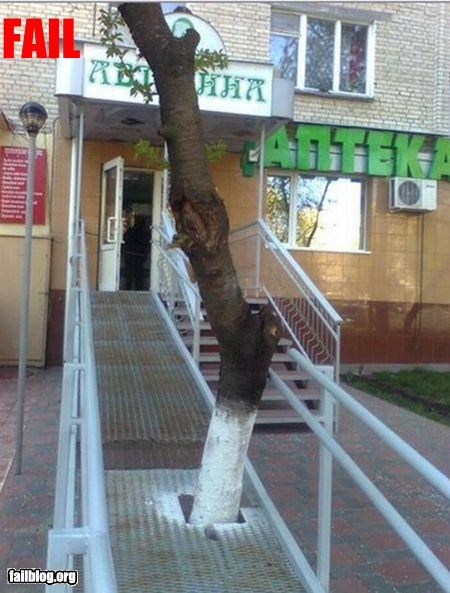 Access Ramp Fail