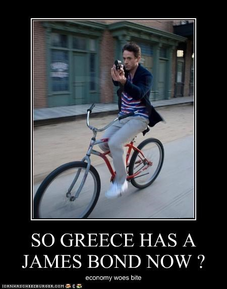 SO GREECE HAS A JAMES BOND NOW ?