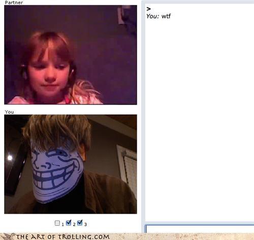 kid,pedobear,trollface