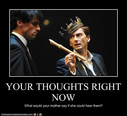 YOUR THOUGHTS RIGHT NOW