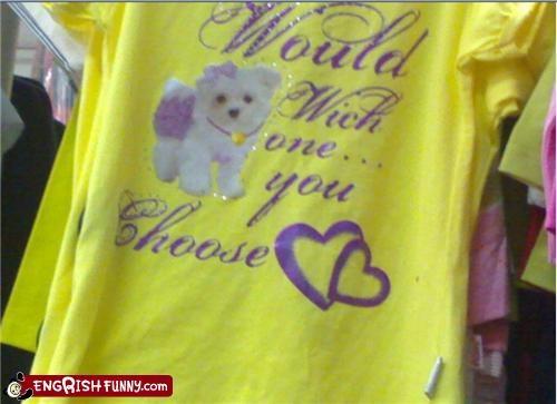 dogs,engrish,tshirt