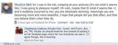 call uncle creepy,grandma,not the best way to woo a lady,public burn