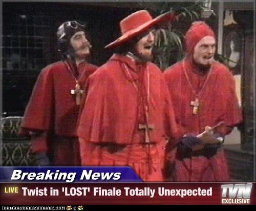 Breaking News - Twist in 'LOST' Finale Totally Unexpected