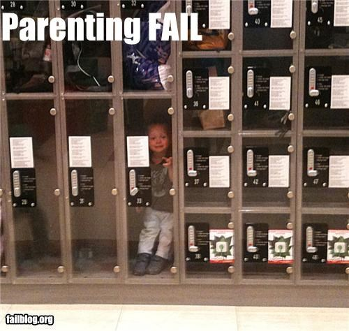 child,failboat,locker,parent,trapped