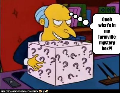 Farmville mystery box!
