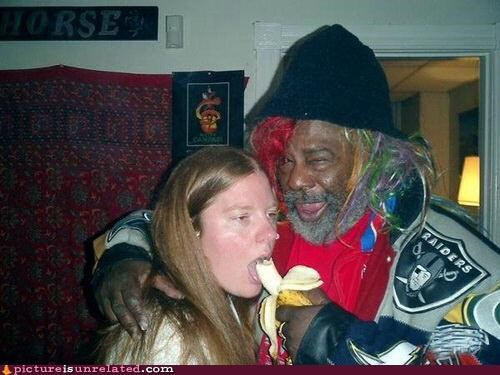 When George Clinton Gives You A Banana You Eat It