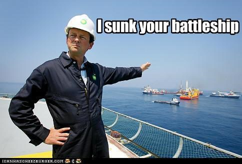 I sunk your battleship
