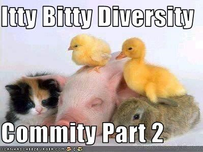 Itty Bitty Diversity  Commity Part 2